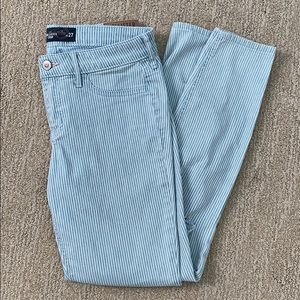 Hollister striped jeans